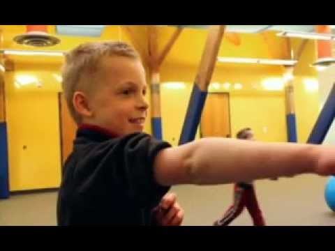 Screenshot of video: A child's view of sensory processing