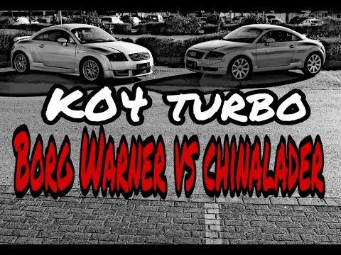K04 Turbolader Borg Warner vs Chinalader Audi TT 8N 1.8T vergleich