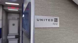 United Airlines domestic first class