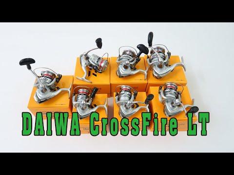 Máy câu cá  Daiwa CrossFire LT 1000 đến 6000 phiên bản 2020