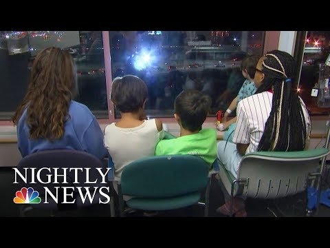 How The City Of Providence Comforts Sick Children   NBC Nightly News