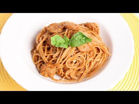 One Pot Single Step Spaghetti Recipe – Laura Vitale – Laura in the Kitchen Episode 936