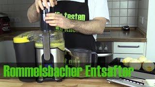 Rommelsbacher Entsafter ES850/E im Test