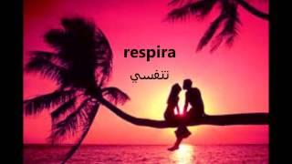 luis fonsi respira translated to arabic