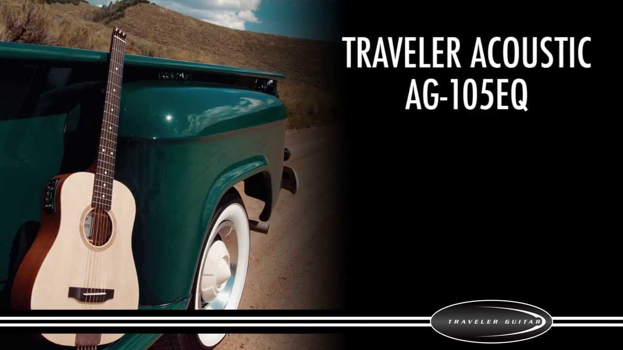 Traveler Guitar Traveler Acoustic AG-105EQ Guitar Overview and Demo