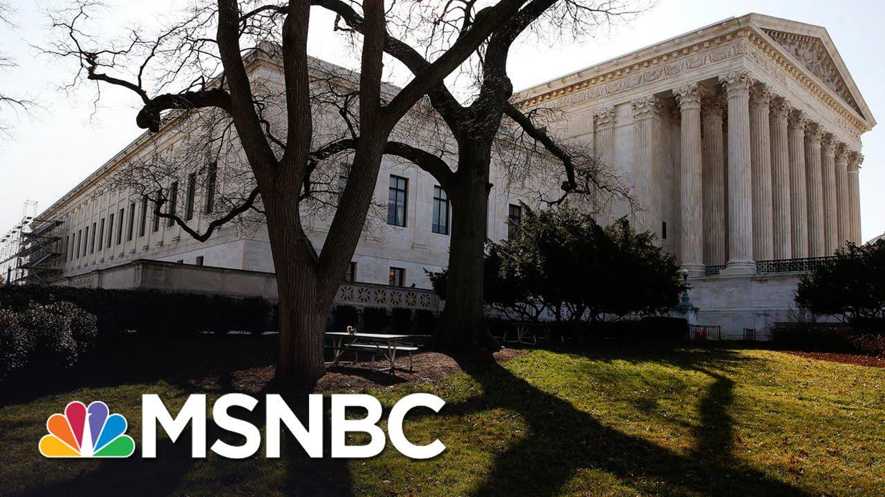 Short-Handed Supreme Court Crisis Deepens   Rachel Maddow   MSNBC thumbnail
