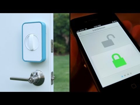 The Lockitron Is Keyless Living As It Ought To Be