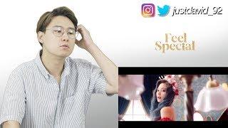 TWICE   FEEL SPECIAL MV [KOREAN REACTION]