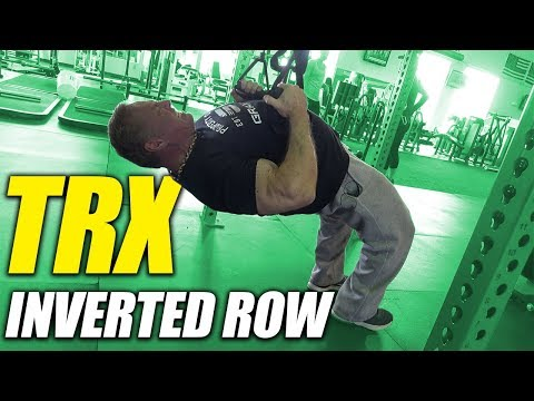 Exercise Index - TRX Inverted Row