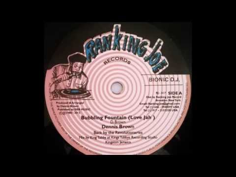 DENNIS BROWN – Bubbling Fountain (Love Jah) [1980]
