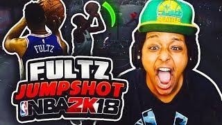 MARKELLE FULTZ REAL LIFE JUMPSHOT IS INSANE IN NBA 2K18