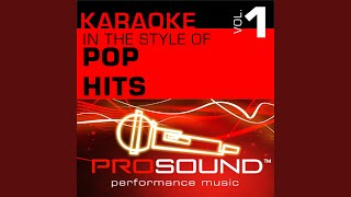 Right Here Waiting (Karaoke Lead Vocal Demo) (In the style of Richard Marx)