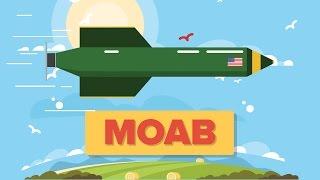MOAB - Mother of All Bombs GBU-43/B Massive Ordnance Air Blast - US Military