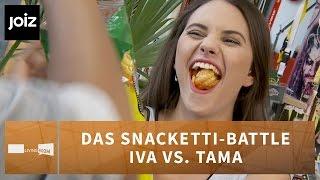 Iva & Tama im Snacketti-Battle