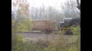 preview picture of video 'WNYP Mixed Freight Leaving Meadville, PA'
