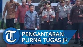 Polri Lakukan Tradisi Pengantaran Purna Tugas Wakil Presiden RI untuk Hormati Jusuf Kalla