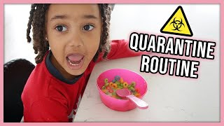 Our Daily Routine in Quarantine   Single Mom of 3 Year Old