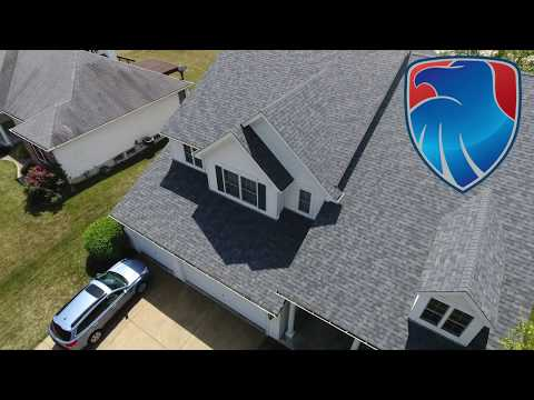Another beautiful Owens Corning roof replacement in Ofallon MO. Estate Gray was a great pick for color of the shingles. We had no problems getting this job done on schedule. You can count on us.