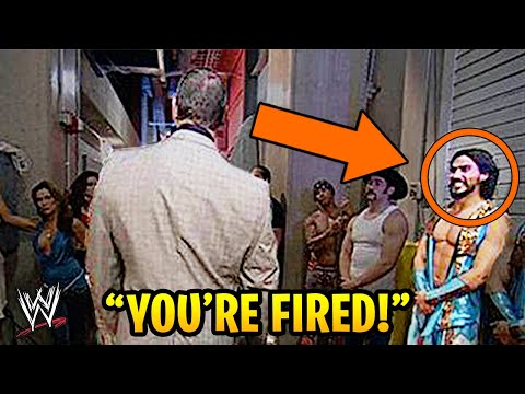 10 WWE Wrestlers Who Were Fired For Stupid Reasons!