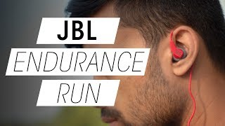 JBL Endurance Run Review and Unboxing | Best Budget Workout Earphones under 20$/Rs. 1000