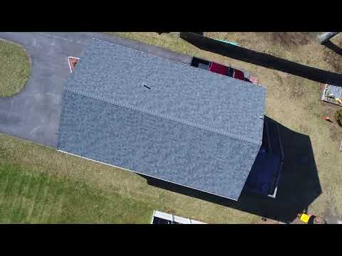 What's a new roof look like from above? Here's a completed project in Fall River, with drone footage shot by our project manager, Brian Couto.
