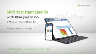 BPAQuality365 video