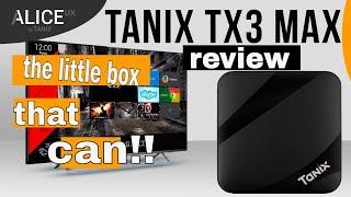Tanix TX3 Max atvXperience V2H custom rom - Toni-Tech Cave