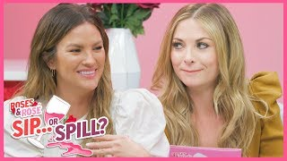 Roses & Rose: Becca Tilley REVEALS The Surprising Bachelor Alum She Made Out With | Sip or Spill
