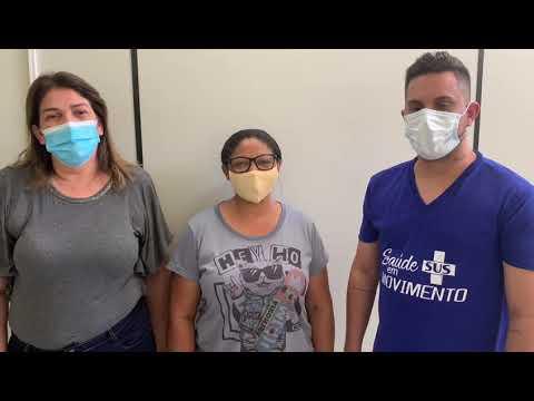Enfermeira agradece vice-prefeito e secretária de saúde por conseguir exame ao filho