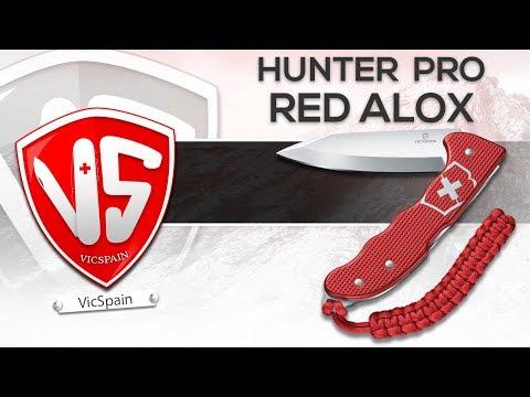 NEW VICTORINOX HUNTER PRO RED ALOX (All subtitles)