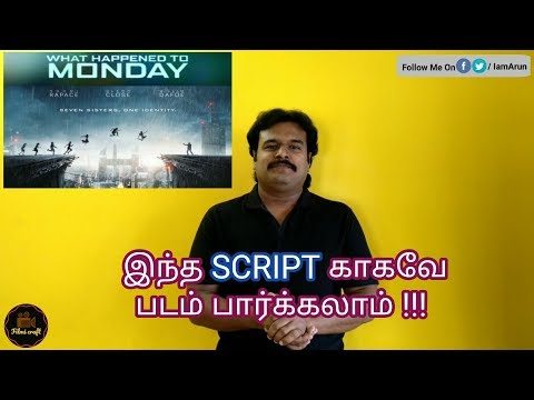 What happened to Monday (2017) English Thriller Movie Review in Tamil by Filmi craft