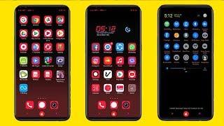 neon ios oppo theme for f5 f7 f9 a3s realme a37 a83 a71 a57