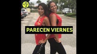 Parecen Viernes Marc Anthony | Zumba | Choreo By Tali DanceFit