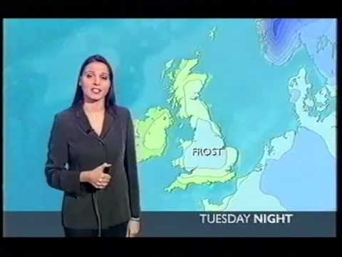 BBC Weather 13th February 2005