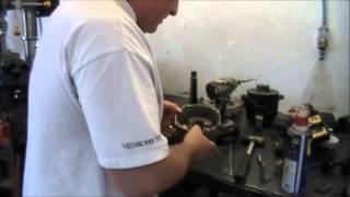 weldernator GM alternator converted to DC on-board welder part1