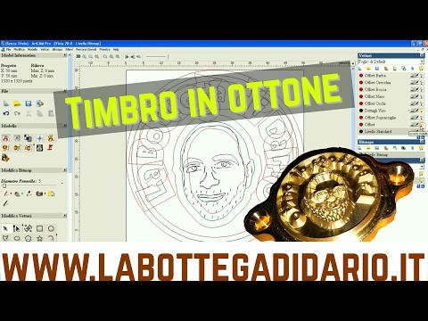 Timbro in Ottone - in ArtCam