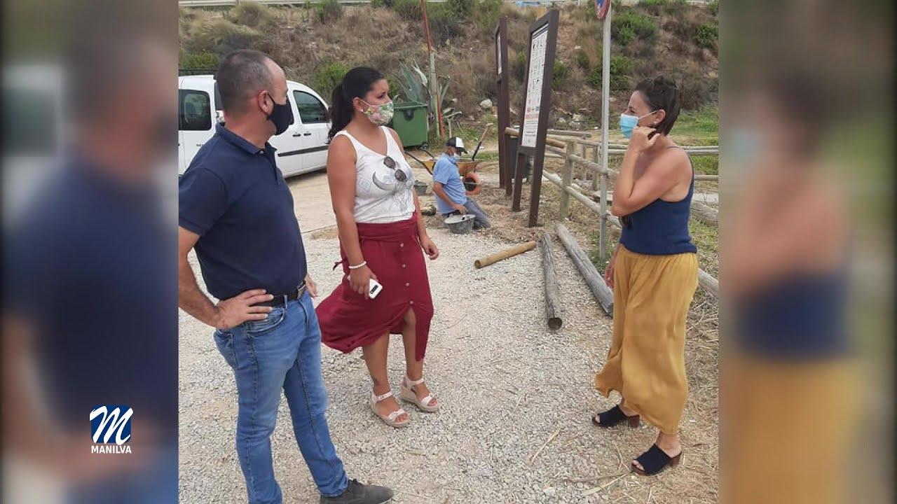Mejoras en los accesos de Punta Chullera y Calataraje