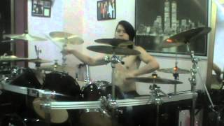 DreamShade  Revive In Me Drum Cover (KingZ AngeL)