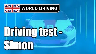 2019 Full UK Driving Test With Simon (real-time fault marking)