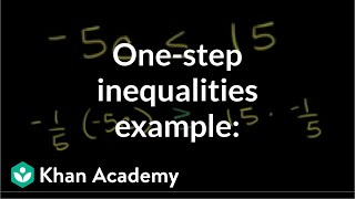 One-Step Inequalities 2