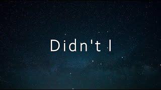 OneRepublic - Didn't I (한국어,가사,해석,lyrics)