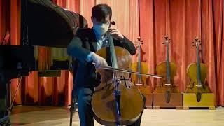 Nathan Slobodkin cello, Boston 2016