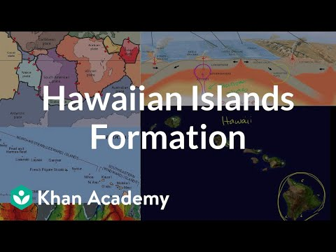 Hawaiian islands formation (video)   Khan Academy
