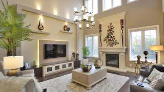Large Living Room Wall Decorating Home Ideas