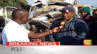 Four Killed In Morning Crash Along Nakuru - Eldoret Highway
