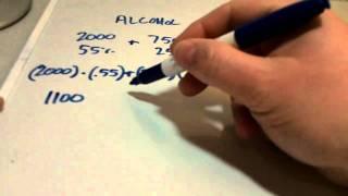 Basic Algebra Equations