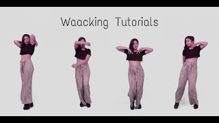 How to Waacking Tutorial #1 || Easy Steps for Beginners || ELEMENTS