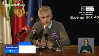 03/04: Ponto de Situação da Autoridade de Saúde Regional sobre Coronavírus nos Açores