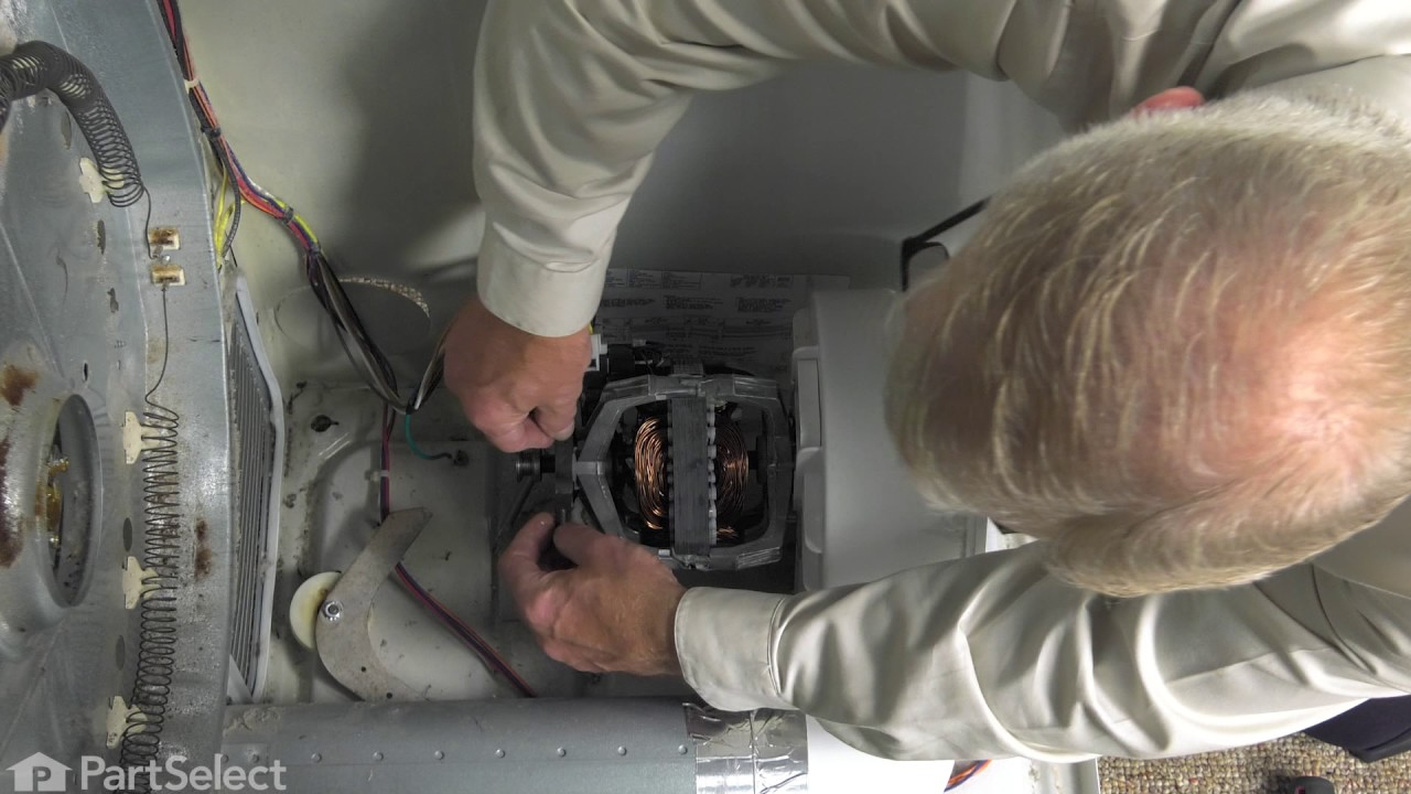 Replacing your Frigidaire Dryer Drive Motor with Pulley
