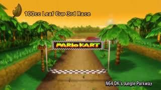 Mario Kart Wii: 100% Playthrough | Part 21 - Leaf Cup 100cc/Unlocking Dry Bones